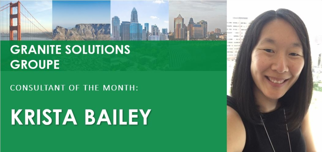 Photo of Consultant of the Month Krista Bailey
