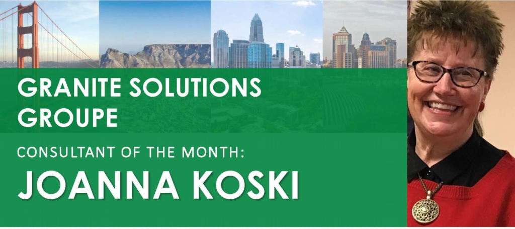 Photo of Consultant of the Month Joanna Koski